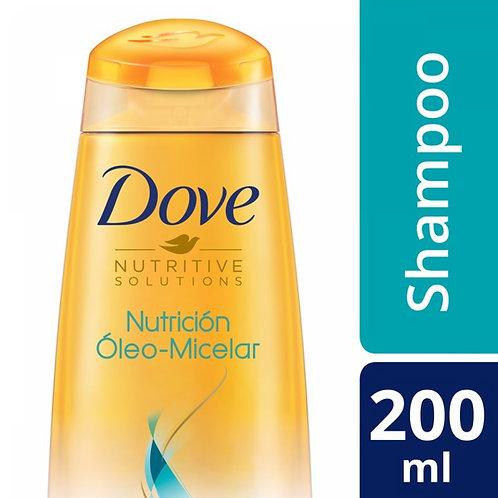 DOVE SHAMPOO NUTRICION OLEO MICELAR X200ML