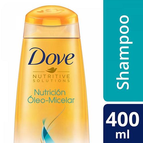 DOVE SHAMPOO NUTRICION OLEO MICELAR X400ML