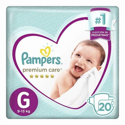 PAMPERSPanales PREMIUM CARE G X 20 UNID