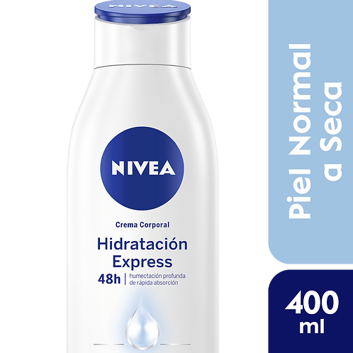 Nivea Body Hidratacion Express - Piel Normal a Seca x 400ml.