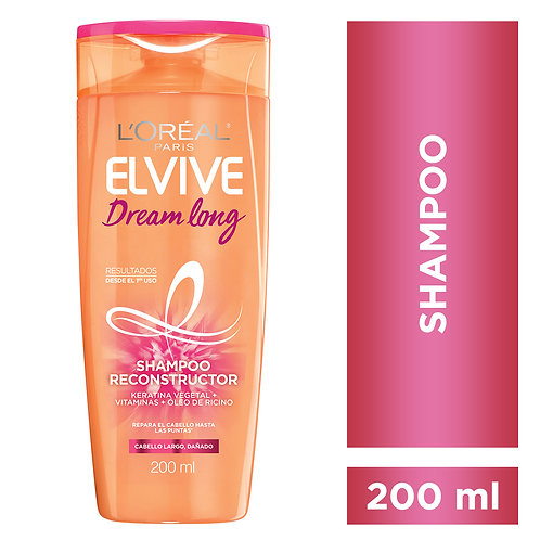 Elvive Shampoo Dream Long x 200 ml.