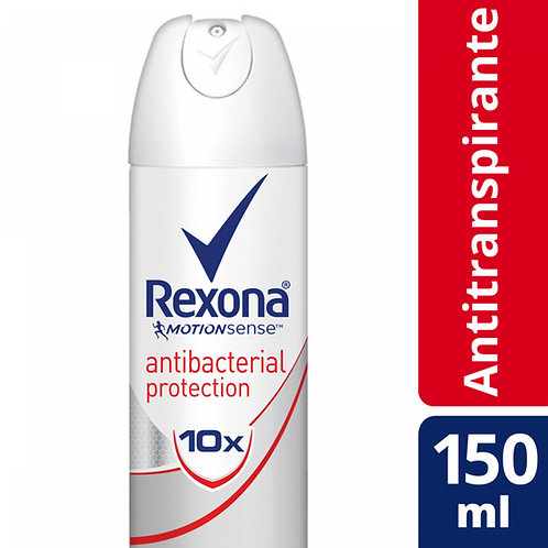 REXONA W DESODORANTE AEROSOL ANTI TRANSPIRANTE ANTIB X90G/150ML