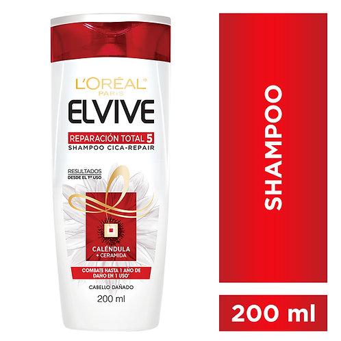 Elvive Shampoo Reparacion Total 5 x 200 ml.