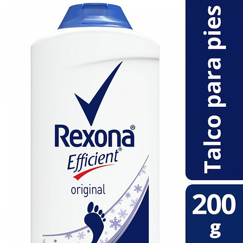 REXONA EFFICIENT TALCO X200G