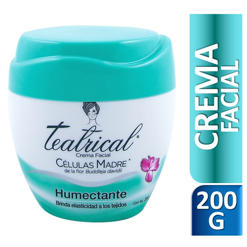 TEATRICAL Humectante crema x 200 g