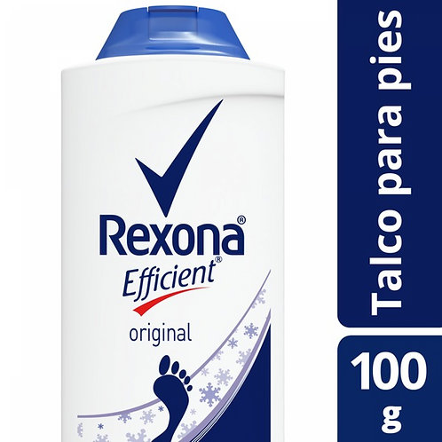 REXONA EFFICIENT TALCO X100G