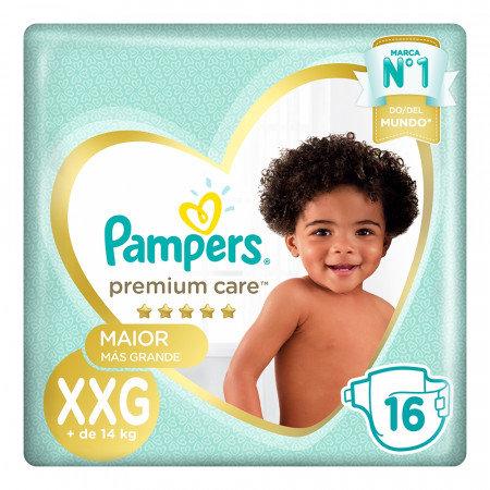 PAMPERSPanales PREMIUM CARE XXG X 16 UNID
