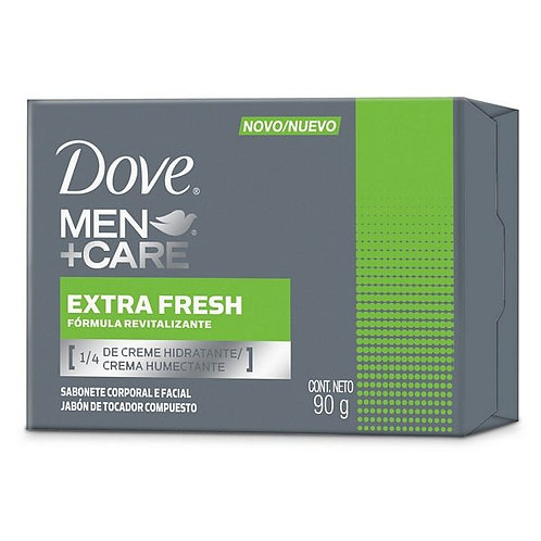 DOVE Jabon MEN EXTRE FRESH X 90