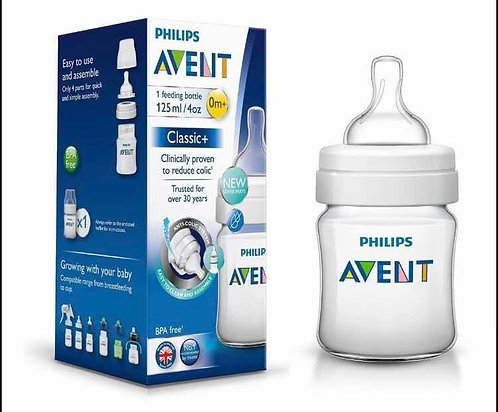 Avent Mamadera classic plus x 125 ml