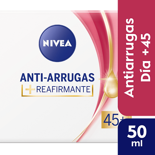 Nivea Facial Anti-Arrugas 45+ Crema de dia reafirmante x 50 ml
