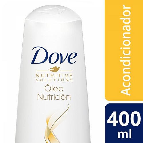 DOVE ACONDICIONADOR OLEO NUTRICION X400ML
