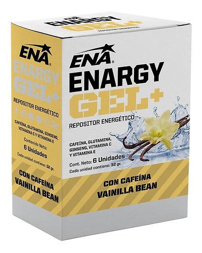 ENA ENARGY GEL + cafeina/vainilla caja x 6 unidades