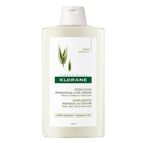 Klorane Shampoo a la Leche de Avena 400 ML