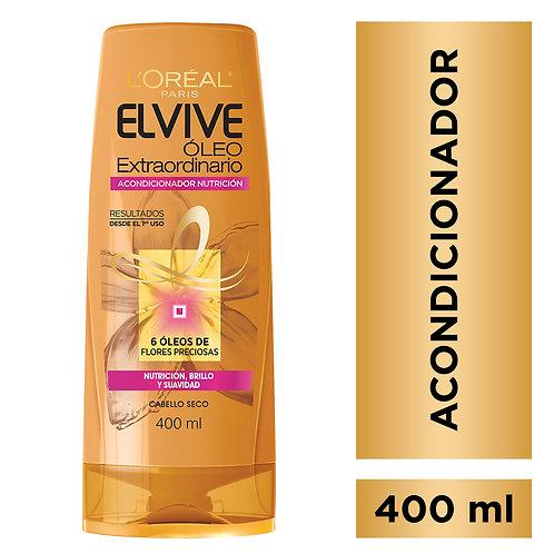 Elvive Acondicionador Oleo Extraordinario Nutricion x 400 ml.