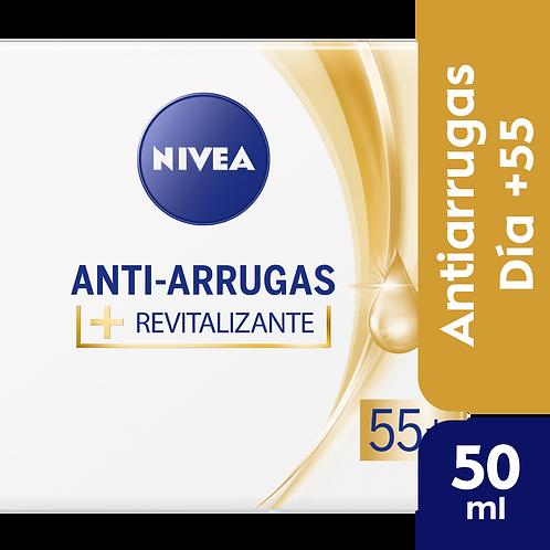 Nivea Facial Anti-Arrugas 55+ Crema de dia revitalizante x 50 ml
