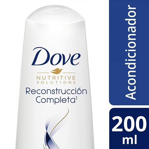 DOVE ACONDICIONADOR RECONSTRUCCION COMPLETA X200ML