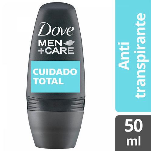 DOVE DESODORANTE ROLLON CUIDADO TOTAL X50ML