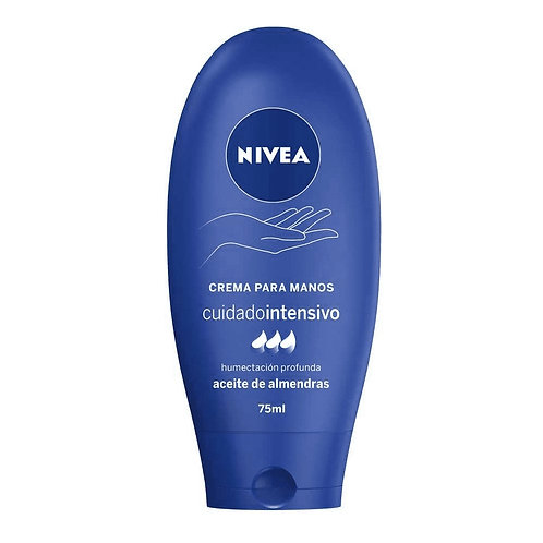 NIVEA HAND CREAM CREMA MANOS NUTRITIVA INTENSIVA  X 75 ML