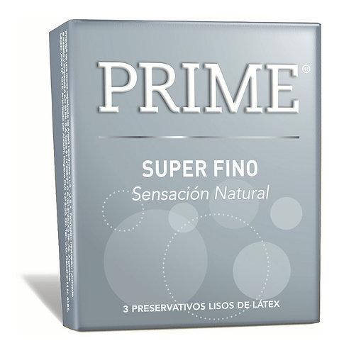 Prime Preservativo Super Fino x 3 unidades