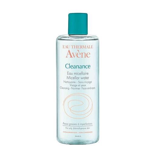 Avene Cleanance Agua Micelar Pieles Grasas - Acne 400ml