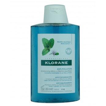 Klorane Shampoo Menta Acuatica 200 ML