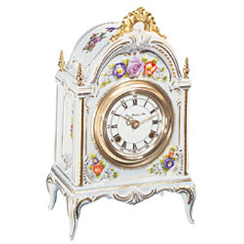 Versailles 8 Day Porcelain Clock