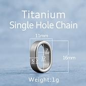 Schlüsselring_Titanium_Single_Hole_Chai