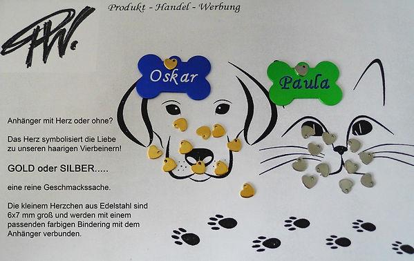 Herz_klein_gold_und_silber_für_TieranhÃ