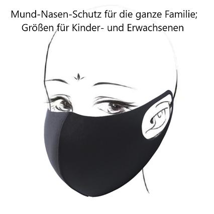 Familienmaske_schwarz_mit_Kopf_und Besch