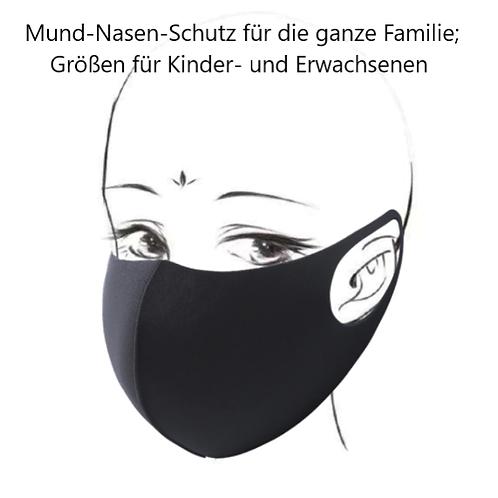 Familienmaske für Kinder und Erwachsene in 4 Farben und 2 Größen