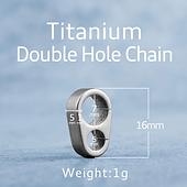 Schlüsselring_Titanium_Double_Hole_Chai