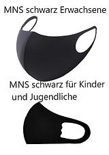 Familienmaske_Schwarz_Erwachsene_Kinder_