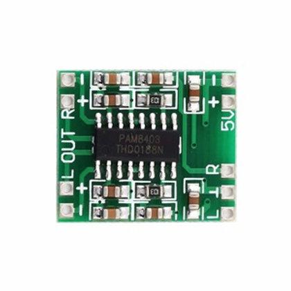 Digital Class D Stereo Audio Amplifier 2 x 3W