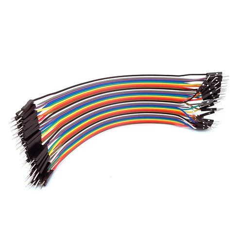 Male/Male Colored Jumper Wire 20 cm