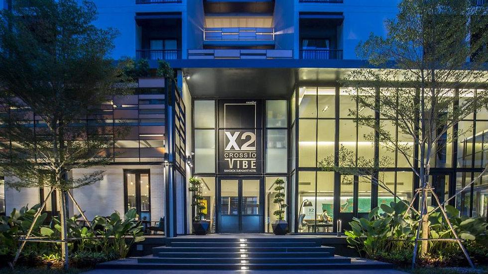 [人氣酒店] 曼谷 X2 Vibe Bangkok Sukhumvit 酒店套票 3日2晚