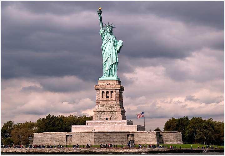 美國自由神像