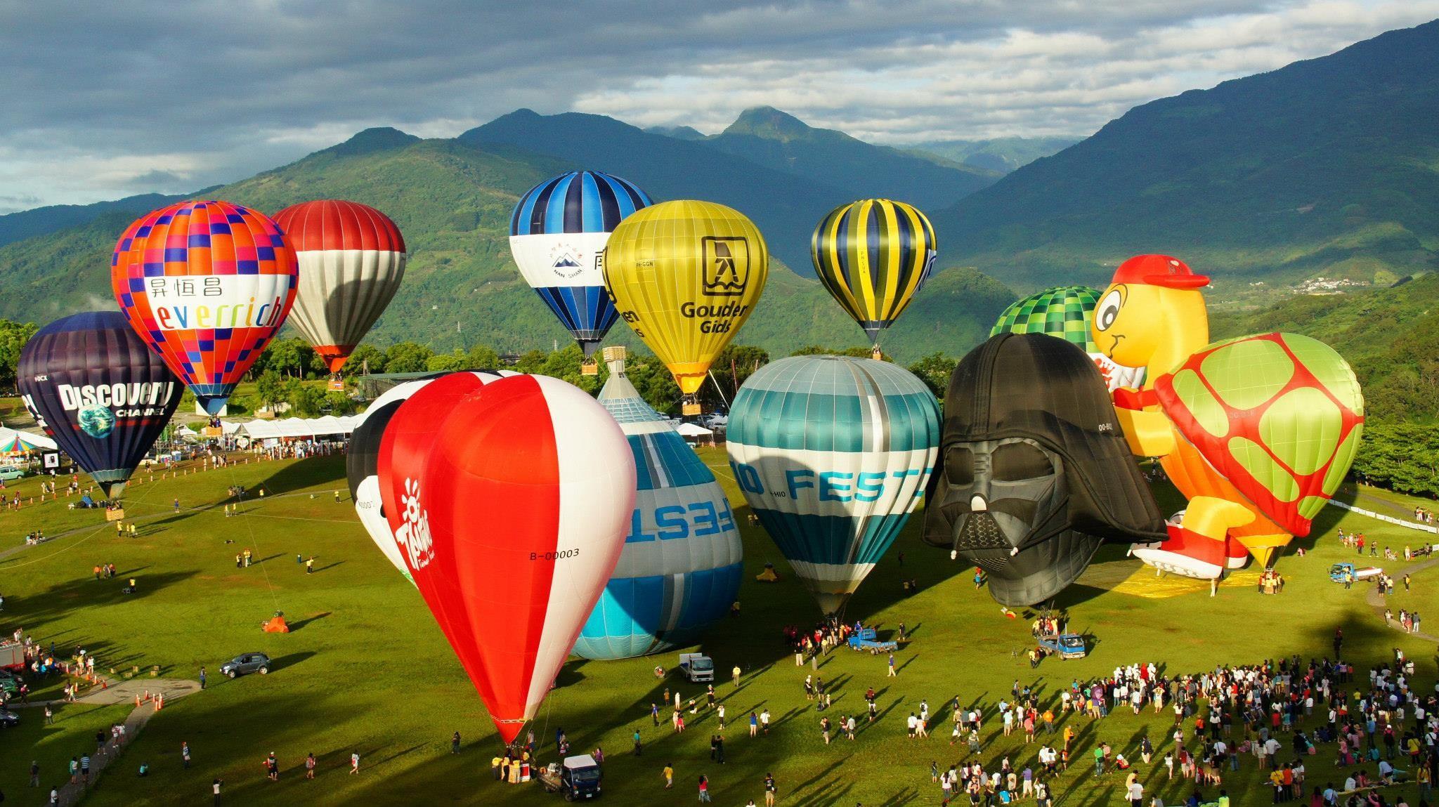 台東熱氣球節
