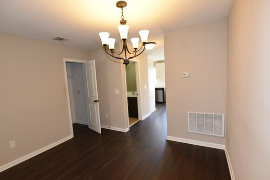 Dining Area, closet, half bath and kitch