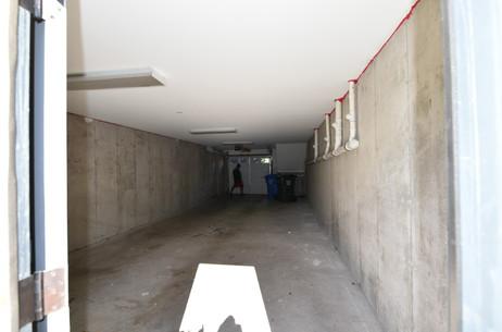 Garage font rear door with garage door d