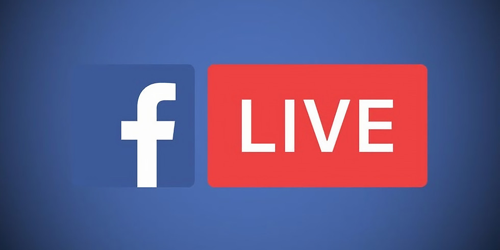 WE WILL BE LIVE-STREAMING EVERY SUNDAY GOING FORWARD