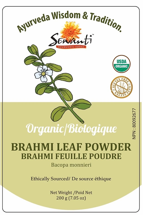 Organic Brahmi Leaf Powder