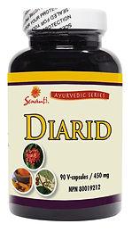 Diarid 90/120 Capsules - Kidney and Bladder