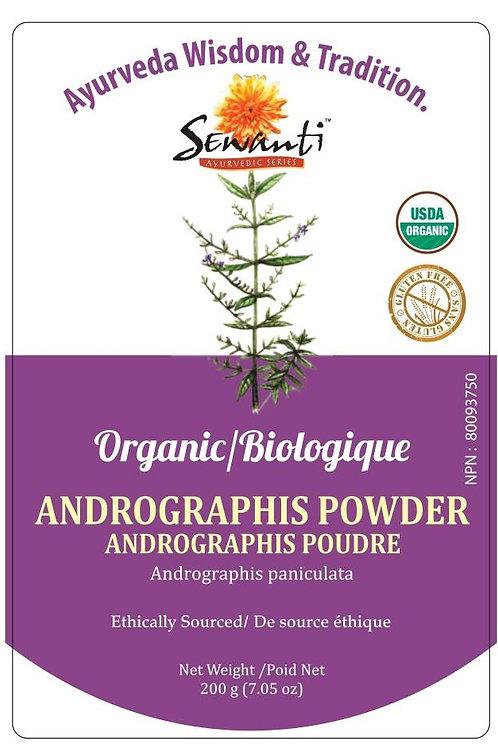 Sewanti Organic Andrographis (Kalmegh) Powder