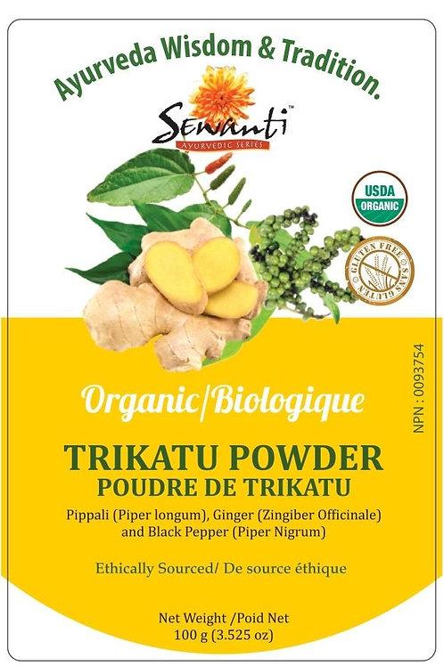 Organic Trikatu Powder