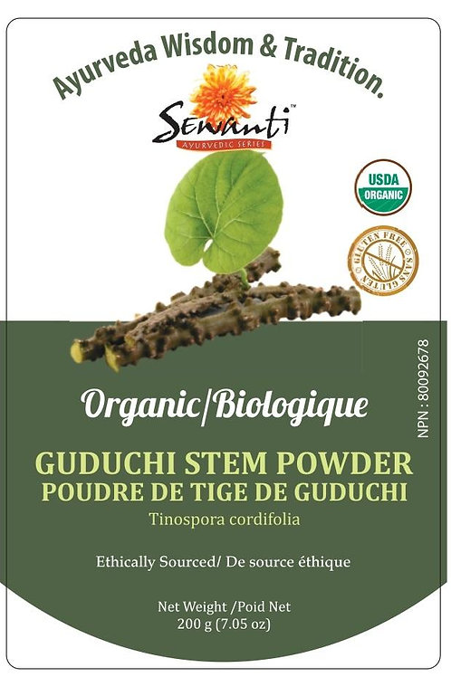 Organic Guduchi (Giloy) Stem Powder