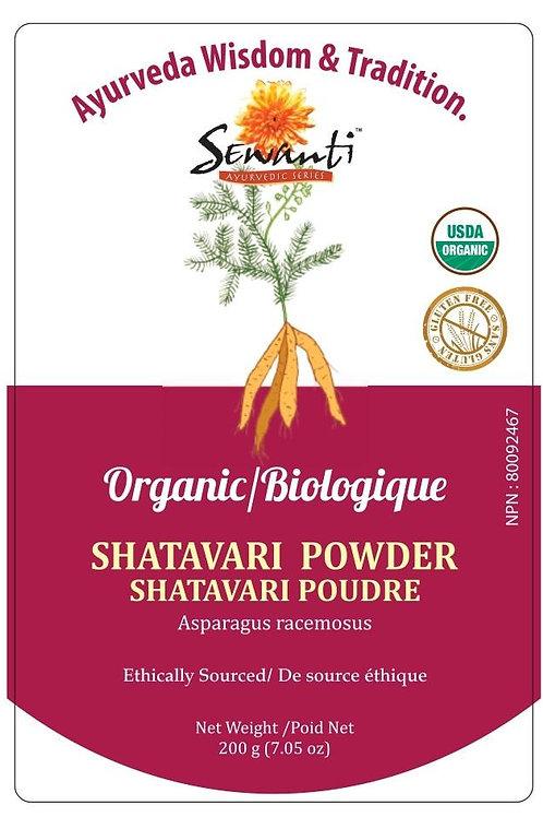 Organic Shatavari Root Powder