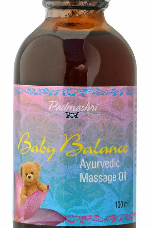 Baby Balance Ayurvedic Massage Oil