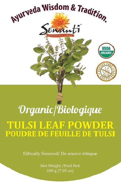 Organic Tulsi (Holy Basil) Leaf Powder