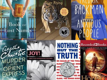 November 2020 - December 2020 Books!