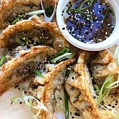 Mushroom Leek Dumplings
